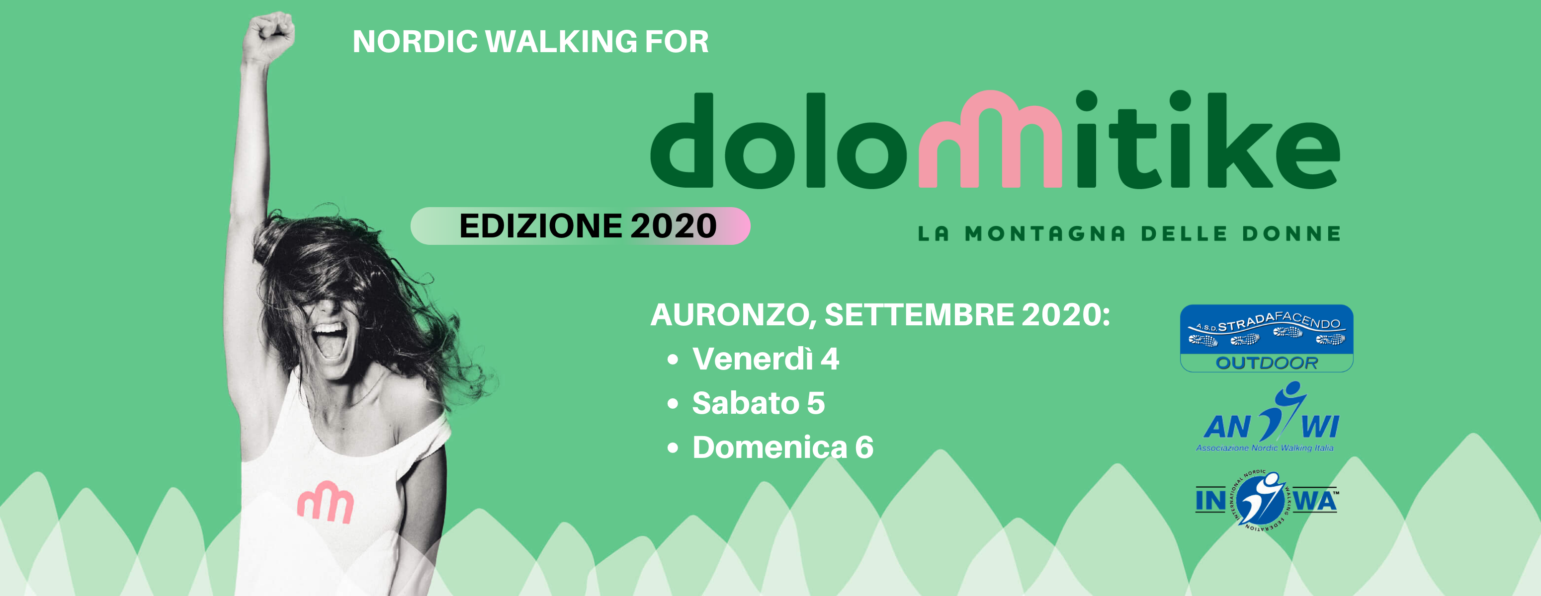 Nordic Walking for Dolomitike 2020